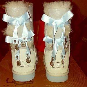 "UGG Australia Bailey Bow Bling ""I Do"" Collection"